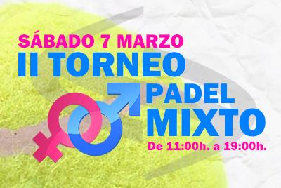 II Torneo Mixto Liga Padel Stadio Alicante